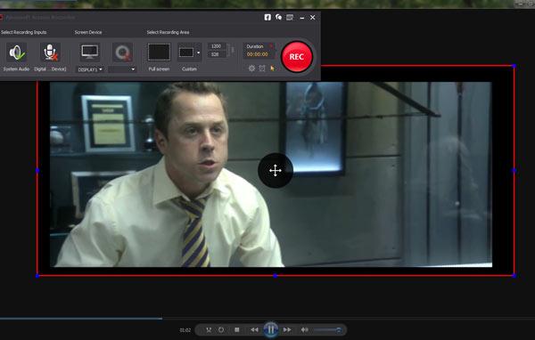 Inicie a gravação com o Screen Recorder