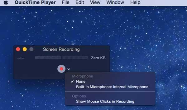 Grave a tela de seu Mac