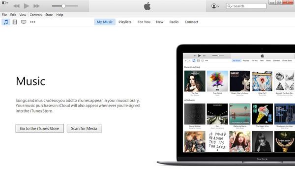Abra o iTunes