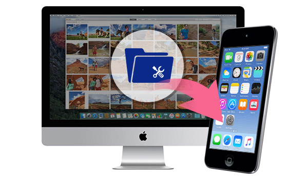 Gerenciar arquivos do iPod no Mac