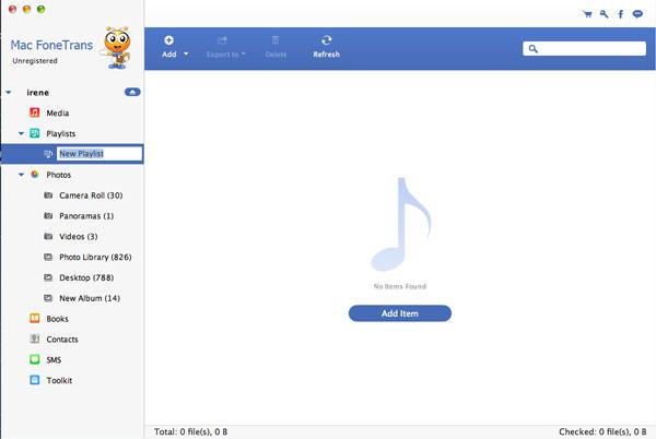 Crie e gerencie playlists do seu iPod