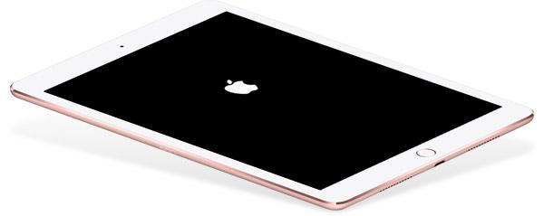 Arrumar um iPad travado no logotipo da Apple