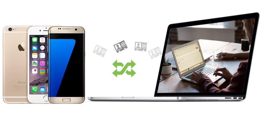 Transfira seus contatos do celular para o PC