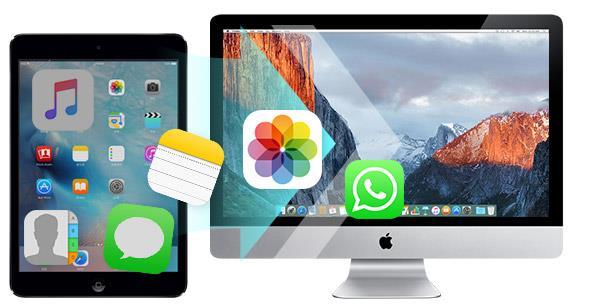 Transferir arquivos do iPad para um Mac