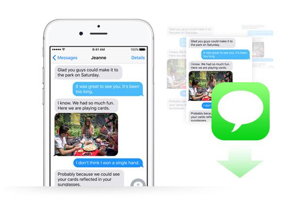 Como salvar mensagens de texto do iPhone no PC