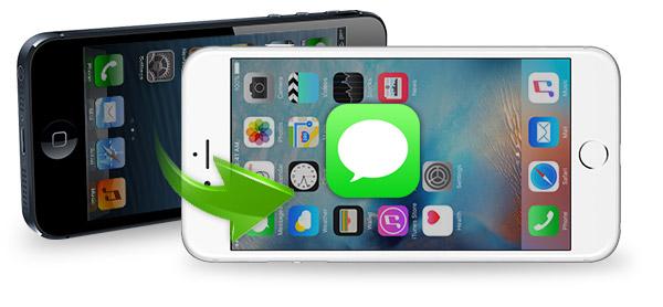 Como transferir mensagens de texto entre iPhones