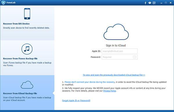 Como recuperar arquivos de um backup do iCloud
