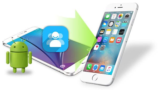 Transferir contatos do Android para um iPhone