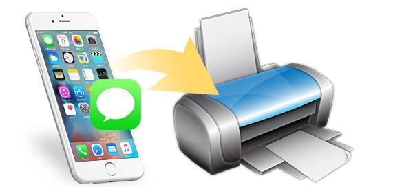 Como imprimir mensagens de texto de um iPhone