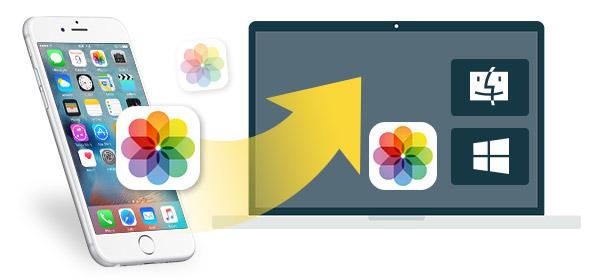 Importar fotos do iPhone para o PC