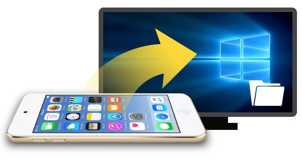 Transferir arquivos de um iPod para o PC