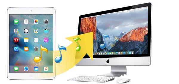 Transferir músicas do iPad para um Mac