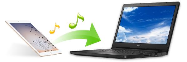 Transferir músicas do iPad para o PC