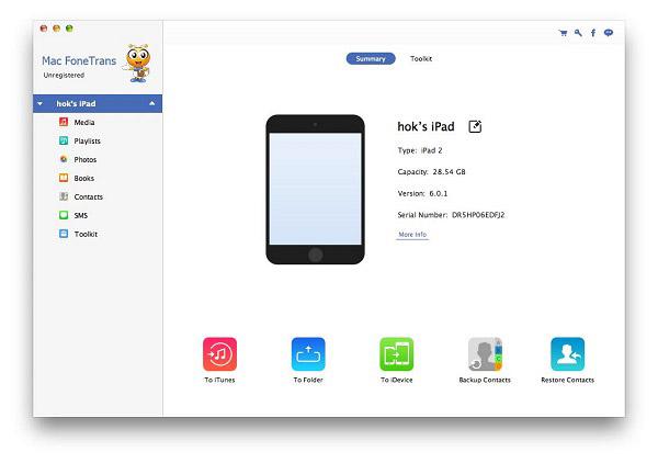Conecte seu iPad ao Mac