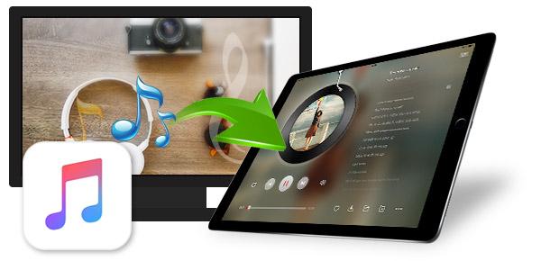 Transferir músicas do Windows para um iPad