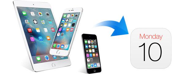 Recuperação calendário iPhone FoneLab