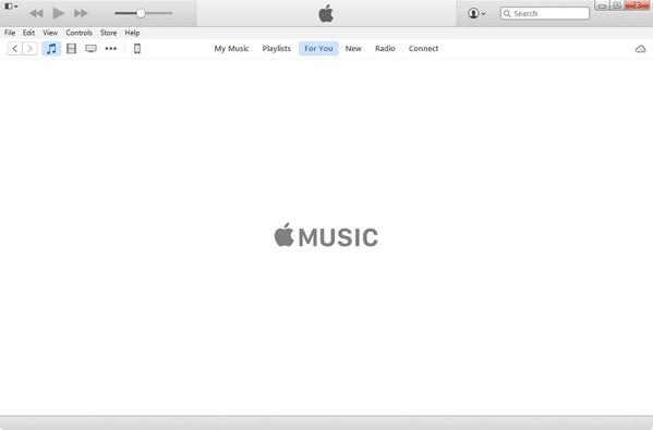 Conecte seu iPhone e abra o iTunes