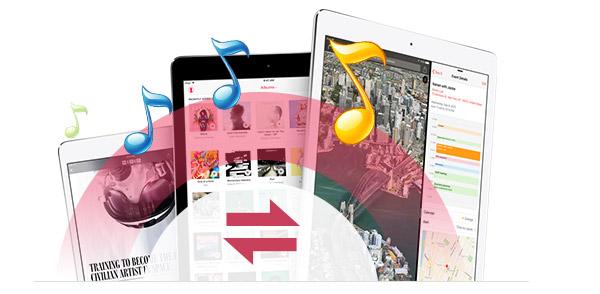 Transferir músicas de um iPad para outro