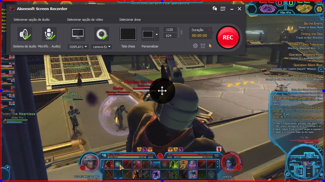 Capturar tela do PC para gravar gameplay