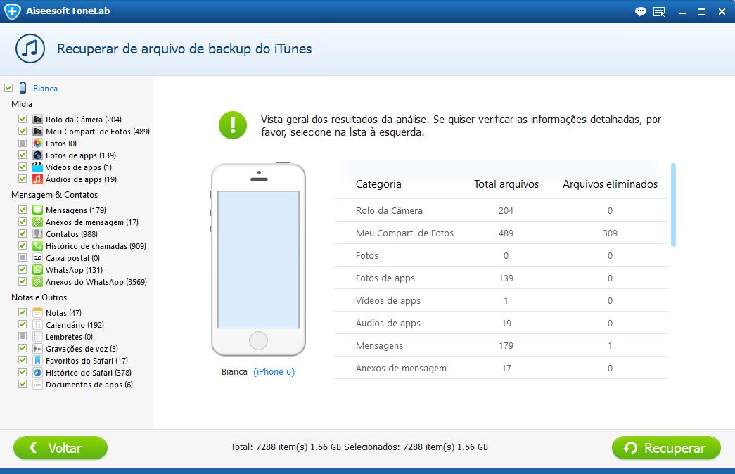 Passo 4: Resolver tela vermelha iPhone FoneLab