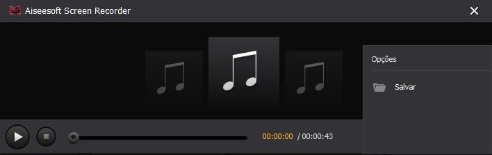 Salvar áudio em streaming - Spotify