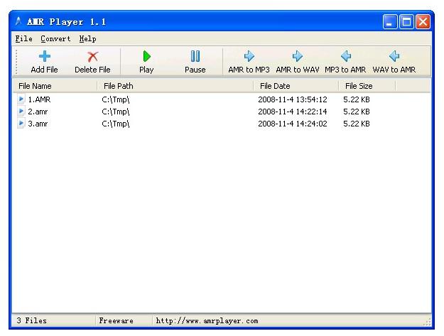 AMR a MP3