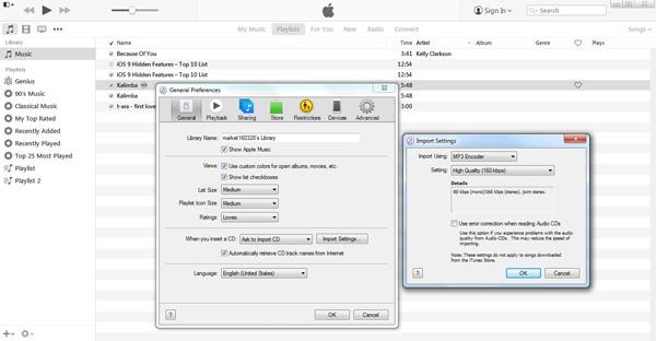 Converter músicas para MP3 com o iTunes