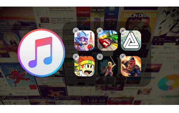 Delete seus apps pelo iTunes