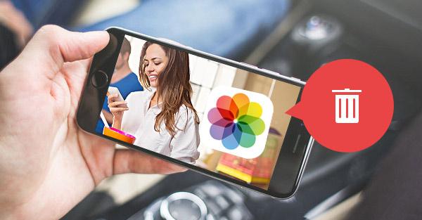 Como deletar fotos de um iPhone