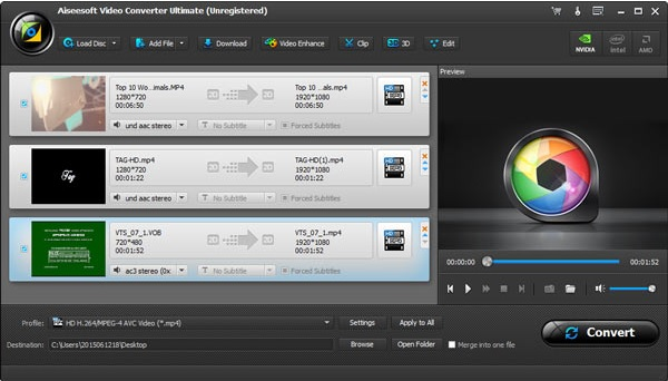 Dividir Video