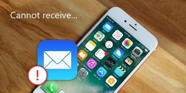 Não foi possível receber seu e-mail