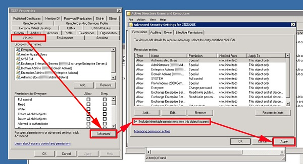 Microsoft Exchange Security