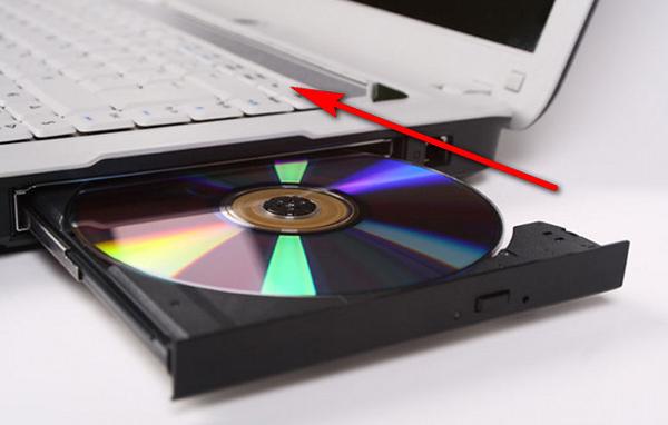 Insira um CD virgem em seu computador
