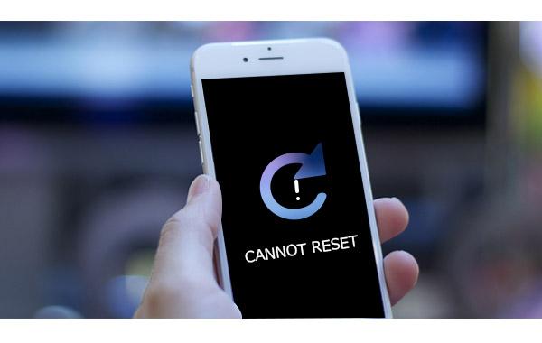 iPhone que não restaura