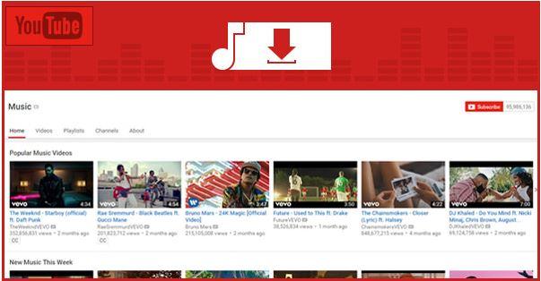 Cómo descargar y grabar música de YouTube
