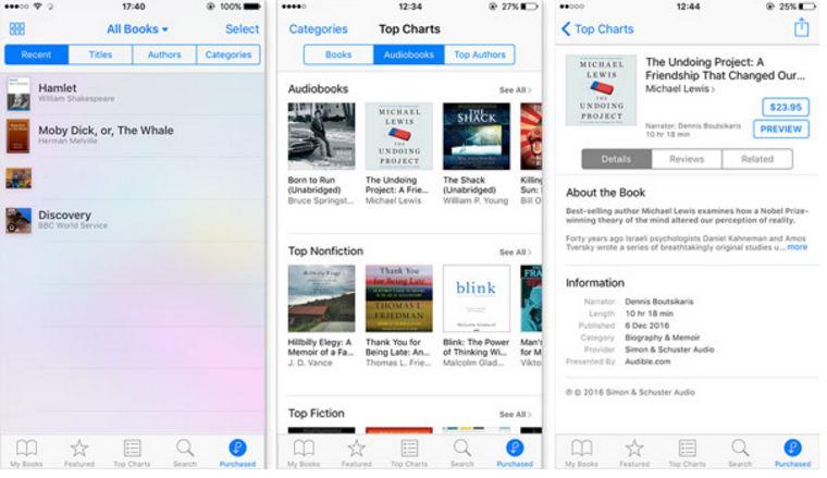 Descargar libros comprados en iTunes