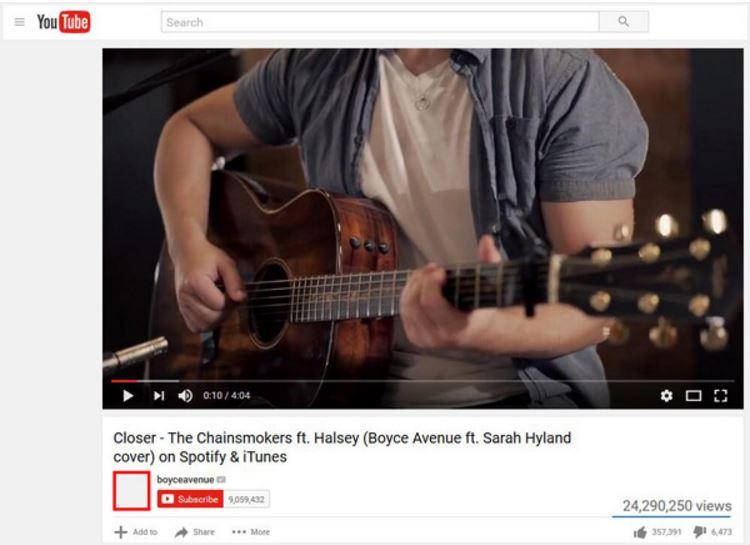 Verificar mensajes de YouTube