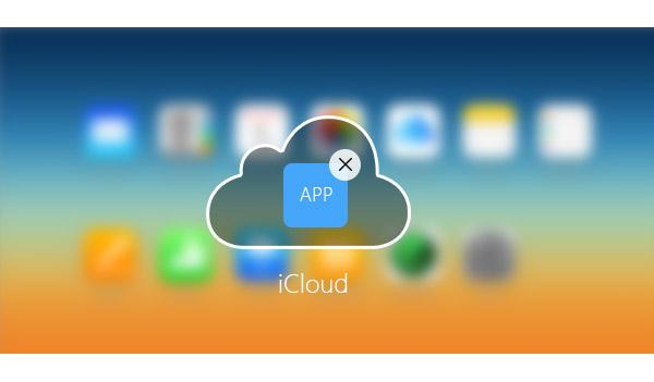 Como deletar apps do iCloud