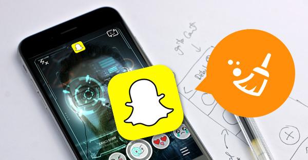 Como deletar o histórico do Snapchat