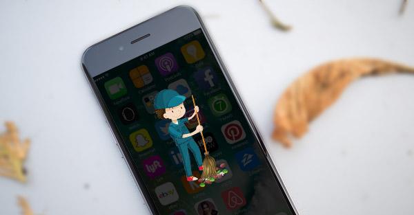 Como esvaziar a lixeira do iPhone