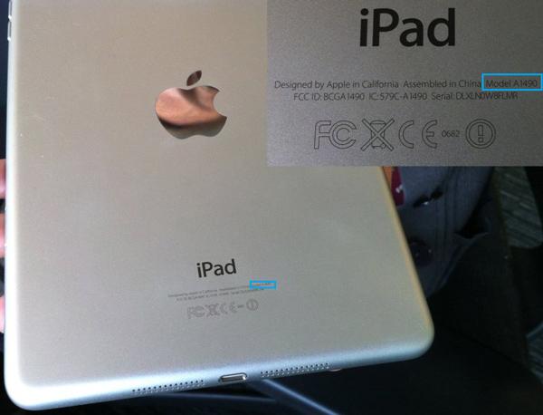 Procure o modelo do seu iPad
