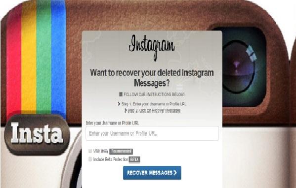 Cómo recuperar mensajes directos en Instagram