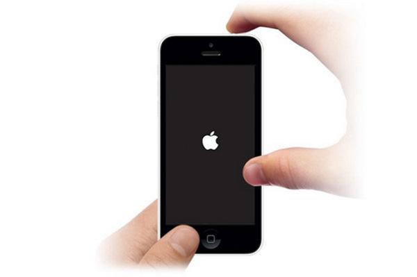 Reinicie seu iPhone