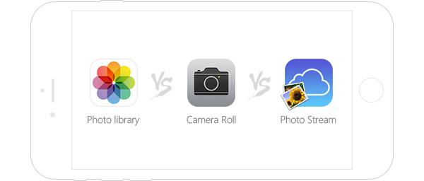 Qual a diferença este os apps de fotos?