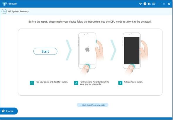 Como salir del modo seguro en Iphone
