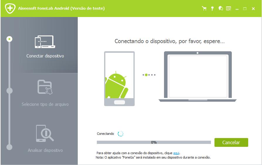 FoneLab Android - recuperar arquivos apagados