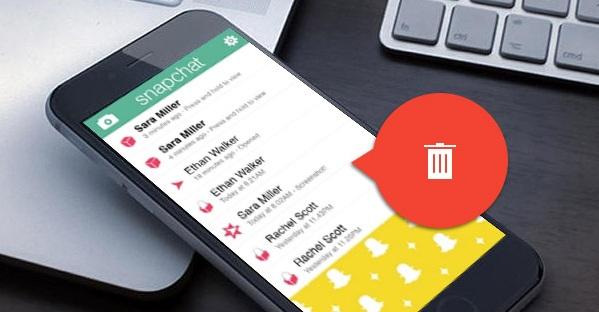 Cómo borrar mensajes y conversaciones de Snapchat