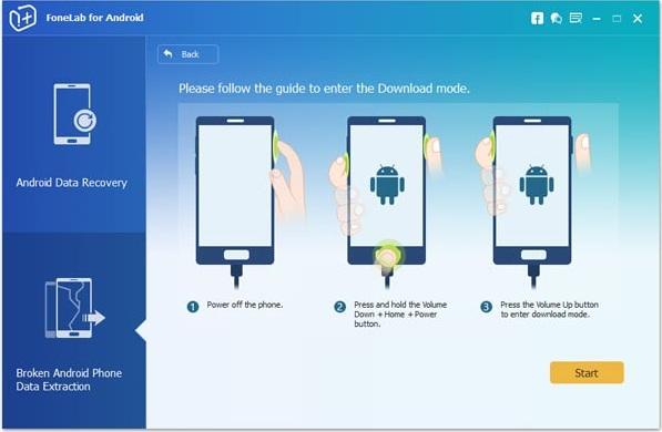 Cómo recuperar datos Android de una pantalla rota