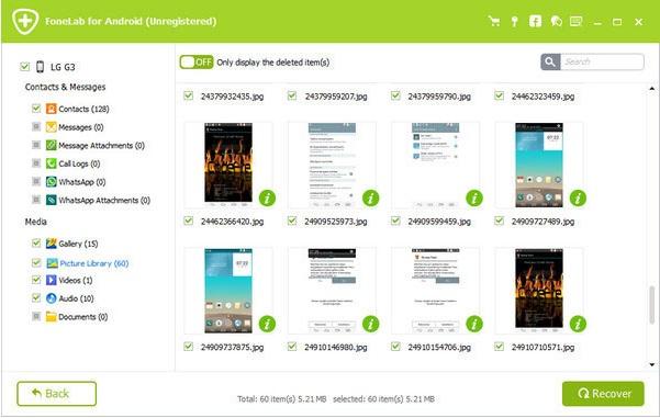 Cómo recuperar datos de la memoria interna de Android