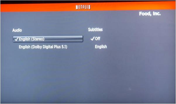 Cómo desactivar subtítulos en Netflix